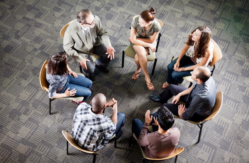 El Grupo de apoyo psicológico